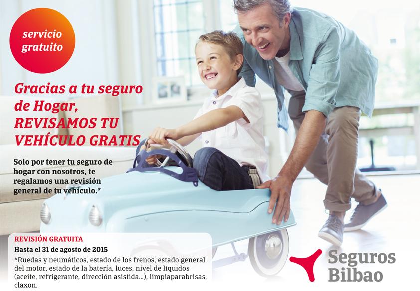 Revision de coche gratis con tu seguro de hogar en seguros bilbao