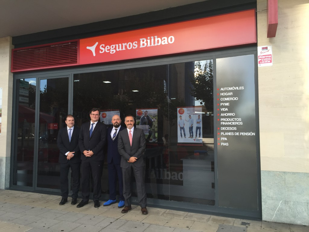 Luis Miguel Gonzales, agente de Seguros Bilbao.