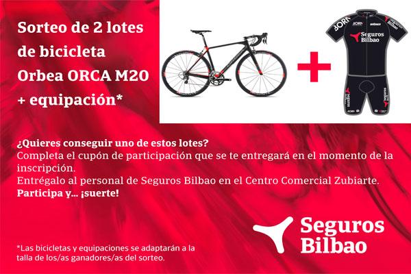 Marcha Bilbao Bilbao, patrocinada por Seguros Bilbao, evento ciclista para disfrutar del deporte y bellos paisajes.