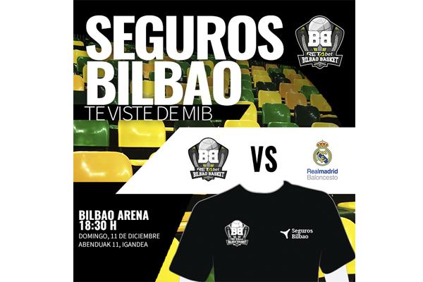 Sorteamos dos entradas dobles para el Bilbao Basket