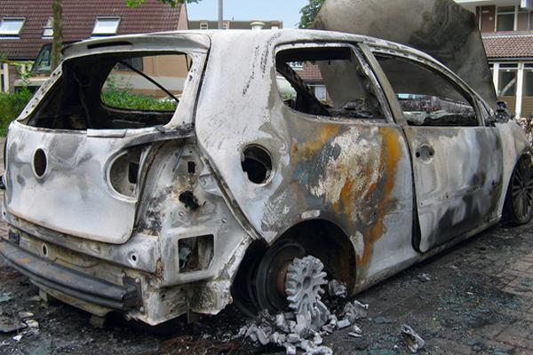 El vandalismo y el seguro de coche