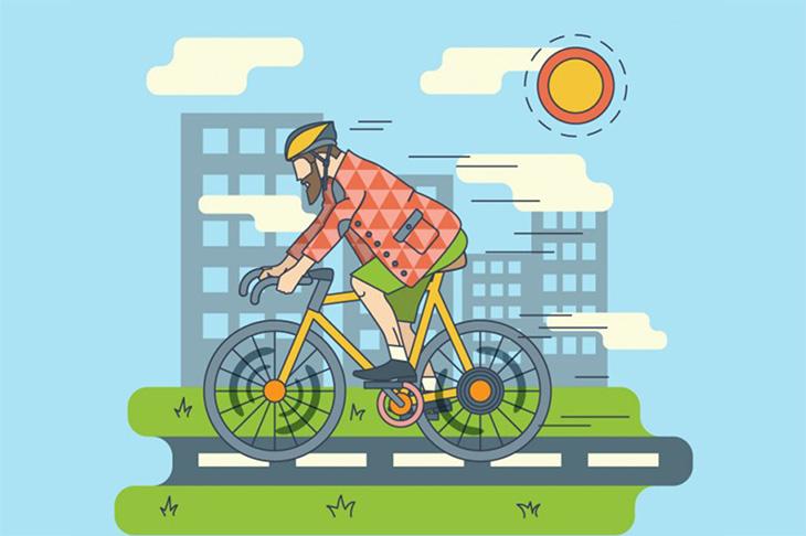 Marcha cicloturista internacional Bilbao-Bilbao