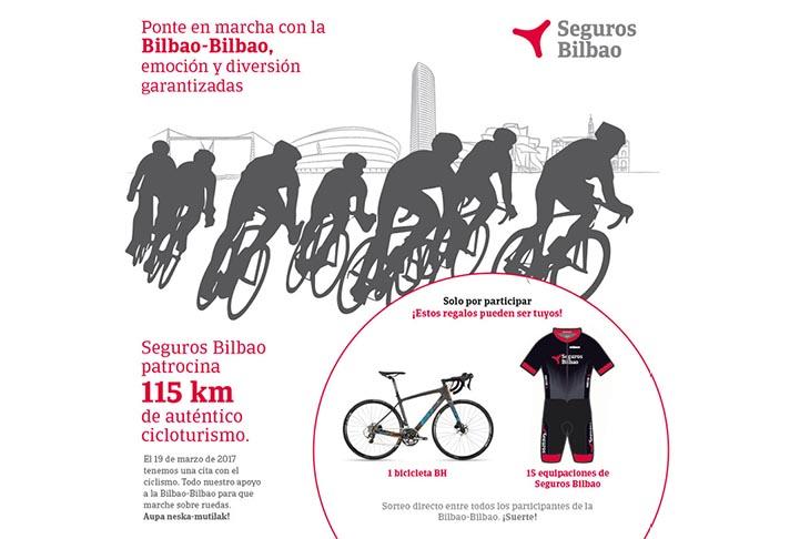 Sorteo de una bicicleta con la Bilbao-Bilbao 2017