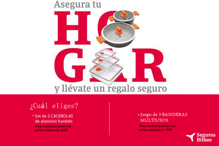 Prepara un rico menú con Seguros Bilbao