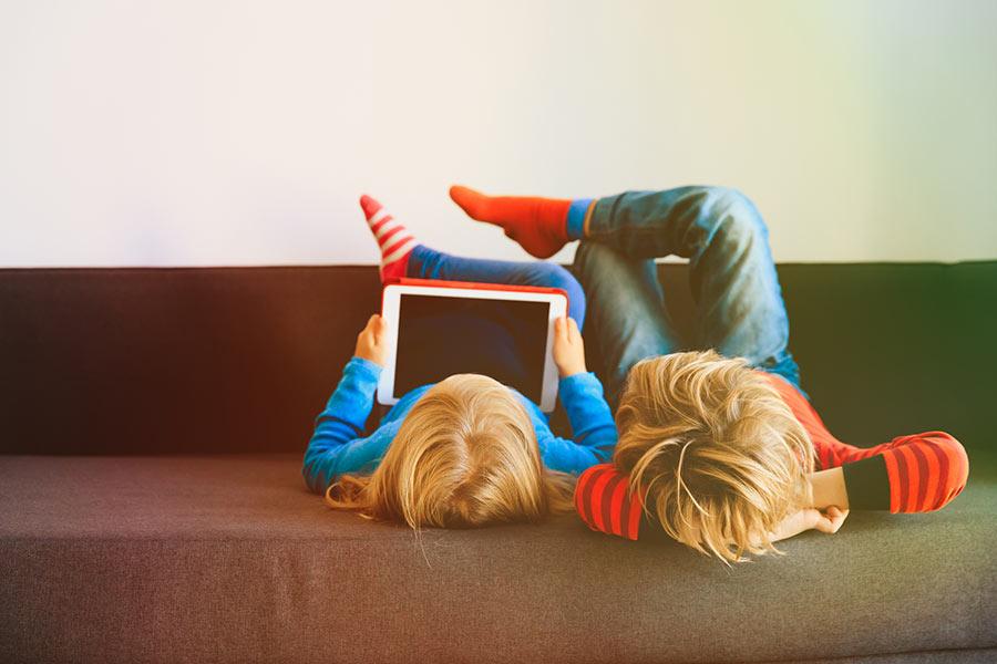Uso de la tecnología para niños