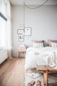paredes de habitaciones blancas
