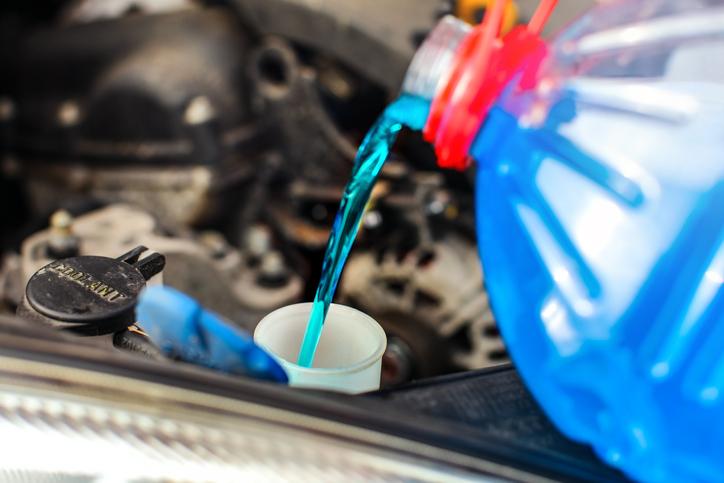 liquido refrigerante coche