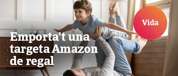 Emporta't una targeta Amazon de regal