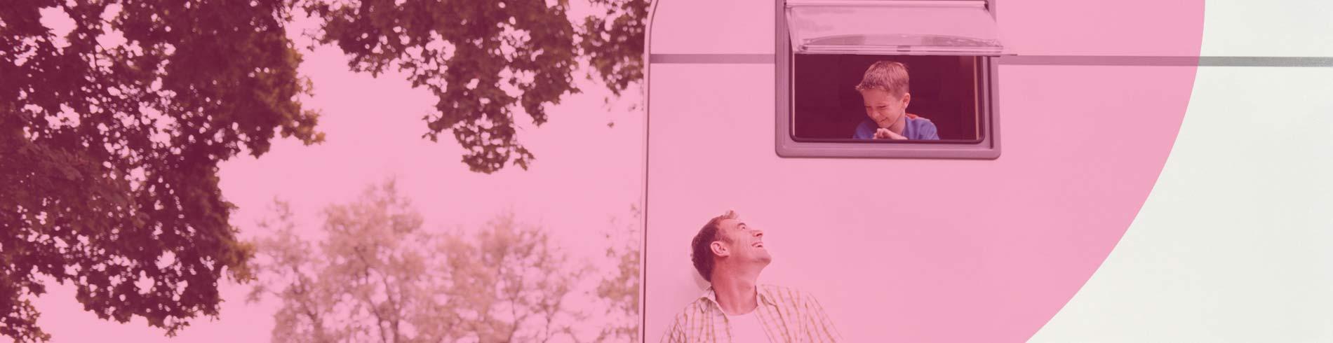Seguros para caravanas fijas en camping