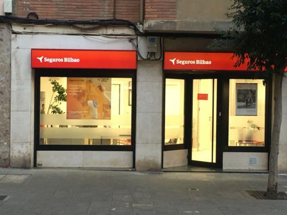 Exterior de nuestra agencia de seguros en Portugalete