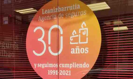 Exterior oficina LEANIZBARRUTIA AGENCIA DE SEGUROS S.L.