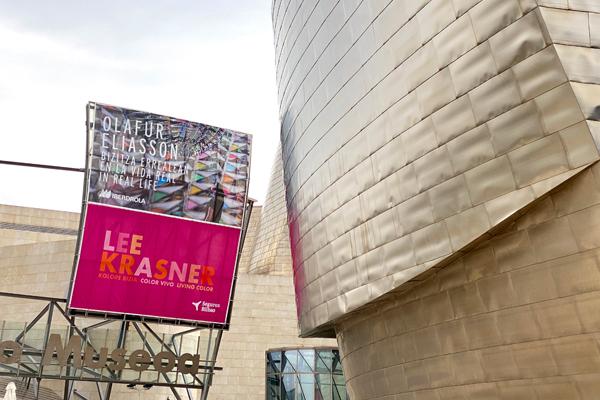 Seguros Bilbao patrocina la muestra de Lee Krasner en el Museo Guggenheim